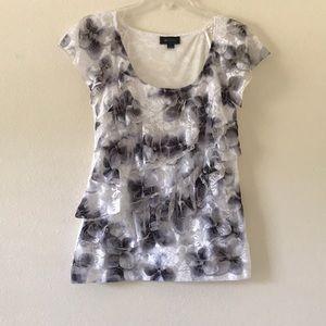 Women's floral lace blouse